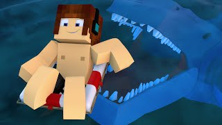 getlinkyoutube.com-Minecraft : TUBARÃO NA PRAIA !! - Aventuras Com Mods #40