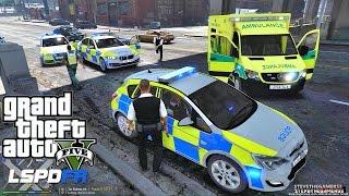 GTA 5 LSPDFR 0.3.1 - EPiSODE 191 - LET'S BE COPS - BRITISH PATROL (GTA 5 PC POLICE MODS)