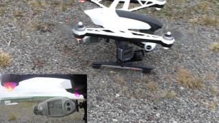 getlinkyoutube.com-Yuneec Q500 - test air speed below the Propeller / Luftgeschwindigkeit am Propeller messen