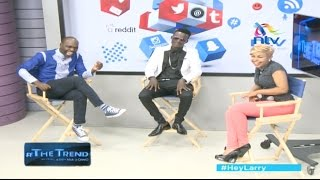 getlinkyoutube.com-Tiga Wana! Willy Paul and Size 8 take on their critics - #theTrend