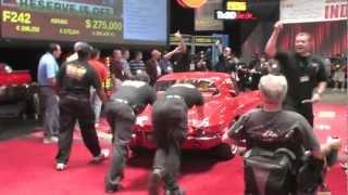 getlinkyoutube.com-Mecum Kissimmee 2013 - 1963 Corvette Coupe - 5,500 Original Miles