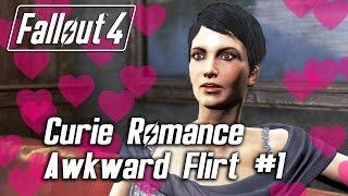 getlinkyoutube.com-Fallout 4 - Curie Romance - Awkward Flirt #1