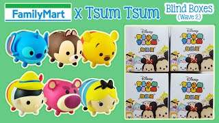 getlinkyoutube.com-2015 Family Mart x Tsum Tsum Blind Boxes (Wave 2) Opening