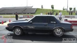 "Drag Racing FAIL - BEATER BOMB has a ""Comeapart"" @ SCT KC"
