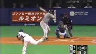 日本シリーズ第5戦 中日・山井大介8回までパーフェクト 全24アウト