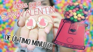 getlinkyoutube.com-Regalos de último MINUTO! San Valentin ♡ NYA RAWR