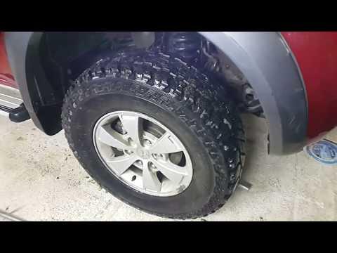 Замена шаровой опоры Mitsubishi L200