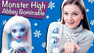 getlinkyoutube.com-Abbey Bominable Basic (Эбби Боминейбл Базовая) Monster High Обзор и Распаковка \ Review V7988
