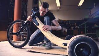 getlinkyoutube.com-Building WORLDS FIRST REAL  OAKEN WOOD Drift Trike!!!