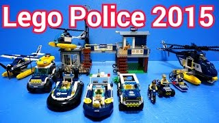 getlinkyoutube.com-Lego Police Car Toys 2015 : 60065 - 60071 (All) Time Lapse Stopmotion Build