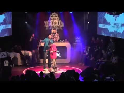 Chuty vs El Destro   Final   Red Bull Batalla de los Gallos 2013 Oficial