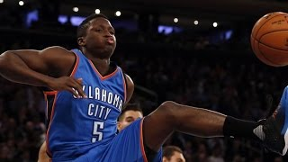 getlinkyoutube.com-Victor Oladipo DESTROYS Dwight Howard With Monster Dunk