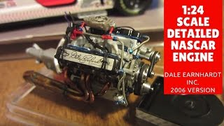 DEI 1:24 Scale Detailed NASCAR Engine