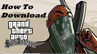 {Hindi} How To Download GTA San andreas