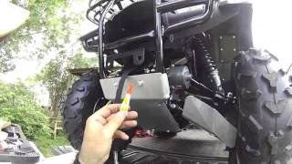 getlinkyoutube.com-2013Honda Rancher 420, Warn XT25 winch