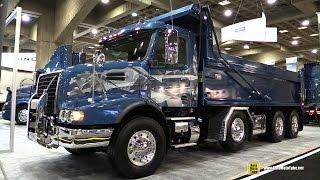 getlinkyoutube.com-2016 Volvo VHD84B 200 Truck with Volvo D13 500hp Engine - Exterior and Interior Walkaround