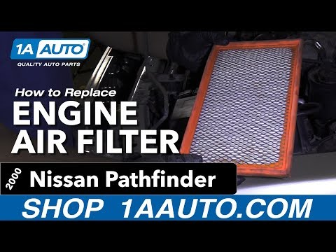 How to Replace Engine Air Filter 96-04 Nissan Pathfinder