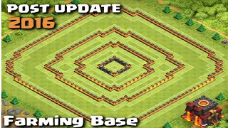 getlinkyoutube.com-POST UPDATE Town Hall 10 Farming Base with Town Hall Inside! Clash of Clans