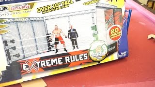 getlinkyoutube.com-WWE Modern Day Cage Ringside Collectibles Exclusive Ring Accessory Unboxing, Construction & Review!!