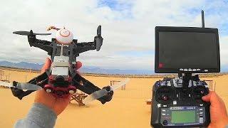 getlinkyoutube.com-Eachine Racer 250 Drone Flight Test Review