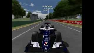 F1 2010 Australia Highlitghs
