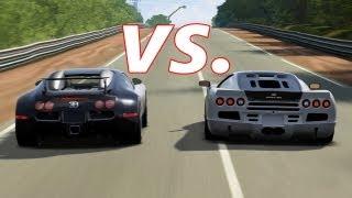 getlinkyoutube.com-FORZA 4 | SSC Ultimate Aero vs. Bugatti Veyron and Veyron SS