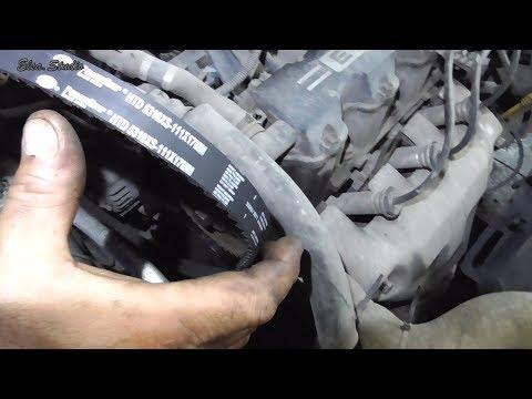 Замена помпы и ремня ГРМ Chevrolet Aveo