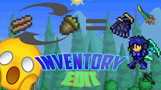 How To Inventory Edit In Terraria 1.2.4 Ios/Android 2016