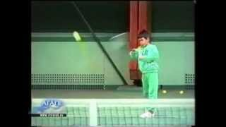 Novak Djokovic - at the age of 6 years and a half