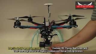 getlinkyoutube.com-OFM S500 Super Quadcopter Review with Maiden Flight