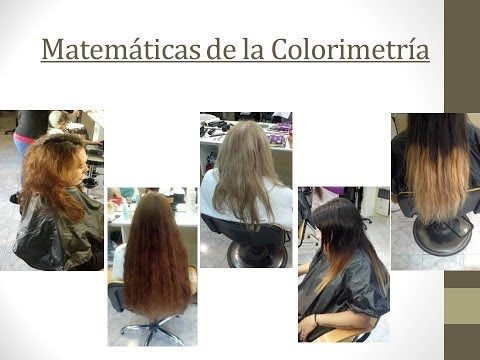 Matemáticas en Colorimetria al Oscurecer-Math Colorimetry to Darken