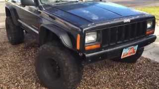 "getlinkyoutube.com-How to fit 33"" tires on a Jeep Cherokee XJ"