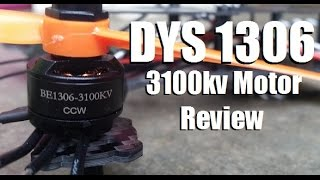 getlinkyoutube.com-DYS 1306 3100kv Motor Unboxing and Review  from Banggood