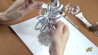 getlinkyoutube.com-Ozdoby Bożonarodzeniowe | Stroiki Świąteczne | Kreatywna Mama