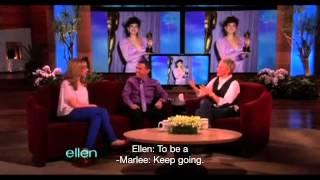 getlinkyoutube.com-Marlee Matlin on the Ellen Show (2012)