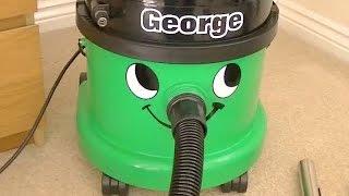 getlinkyoutube.com-Numatic George GVE 370 Wet/Dry Vacuum Cleaner Demonstration