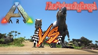 getlinkyoutube.com-Ark Max Speed! | Dodorex Vs Alpha T-Rex