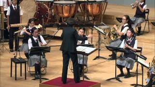 第54回東京都中学校吹奏楽コンクール 青梅6中 鳥之石楠船神~吹奏楽と打楽器群のための神話