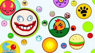 getlinkyoutube.com-Agario Mobile 33K Eating Everything Trolling In Experimental Mode (Agar.io Trolling Funny Moments)