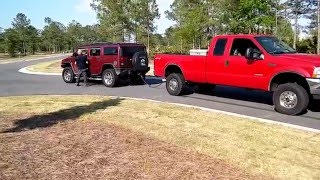 getlinkyoutube.com-Ford f350 .vs. Hummer!