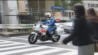 getlinkyoutube.com-白バイ、交通取り締まりで次々検挙。Chase of the white police motorcycle.