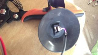 getlinkyoutube.com-Flyback Transformer Plasma Speaker!