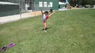 getlinkyoutube.com-Bratayley: Hayley's Gymnastics [Part 2]