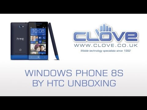 HTC 8S Windows Phone Unboxing