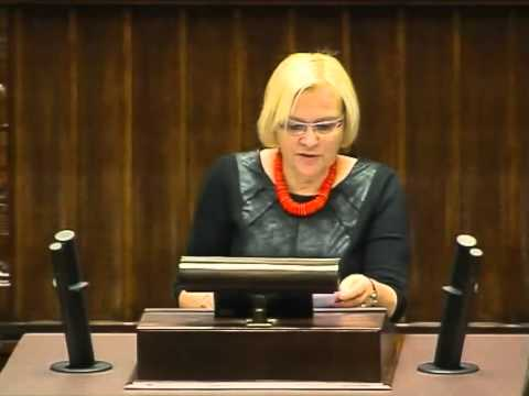 [141/347] Krystyna Poślednia: Panie Marszałku! Panie Ministrze! Wysoka Izbo! Przypadł mi w udzi..