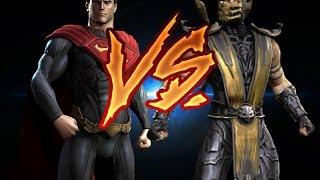 getlinkyoutube.com-Superman Vs Scorpion - Animation 2