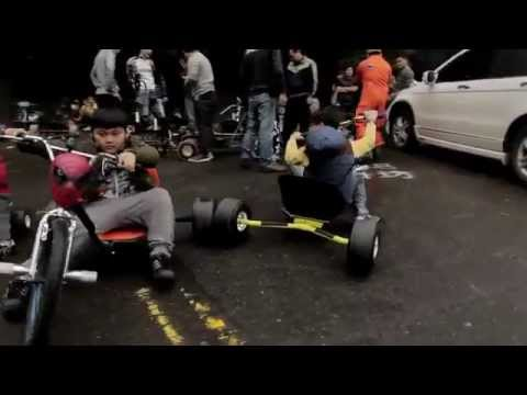 Drifting con triciclos en Taiwan / Drifting with tricycles in Taiwan