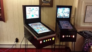 The Pinbaby, my new mini size Virtual Pinball machine running VP and PinballX