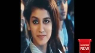 Priya Prakash Warrier with Oriya
