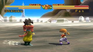 Dragon Ball GT: Final Bout [PS1] - Super Saiyan 4 Goku